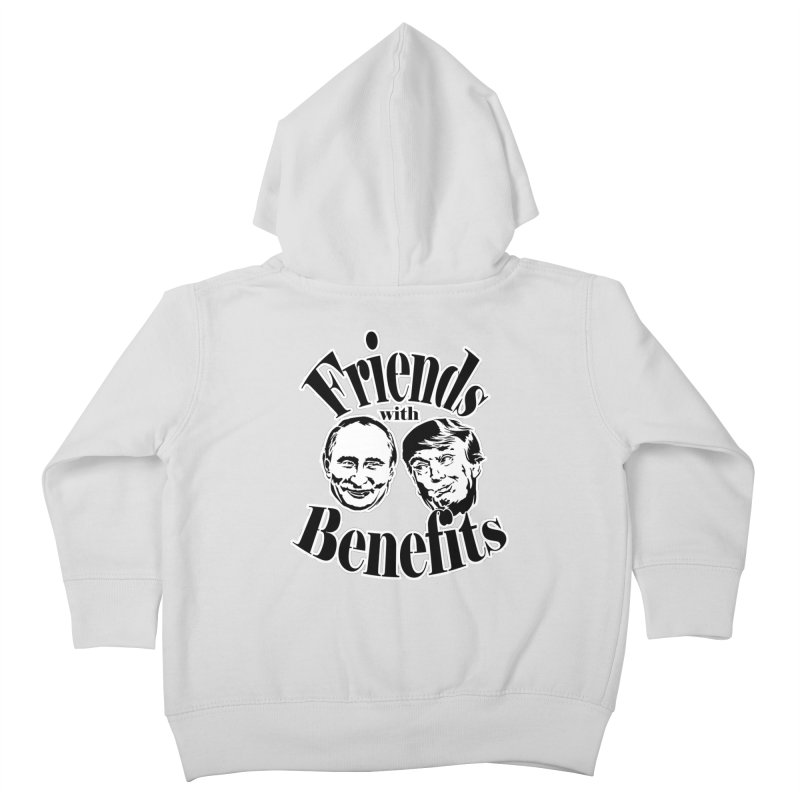 Friends with Benefits Kids Toddler Zip-Up Hoody by StencilActiv's Shop