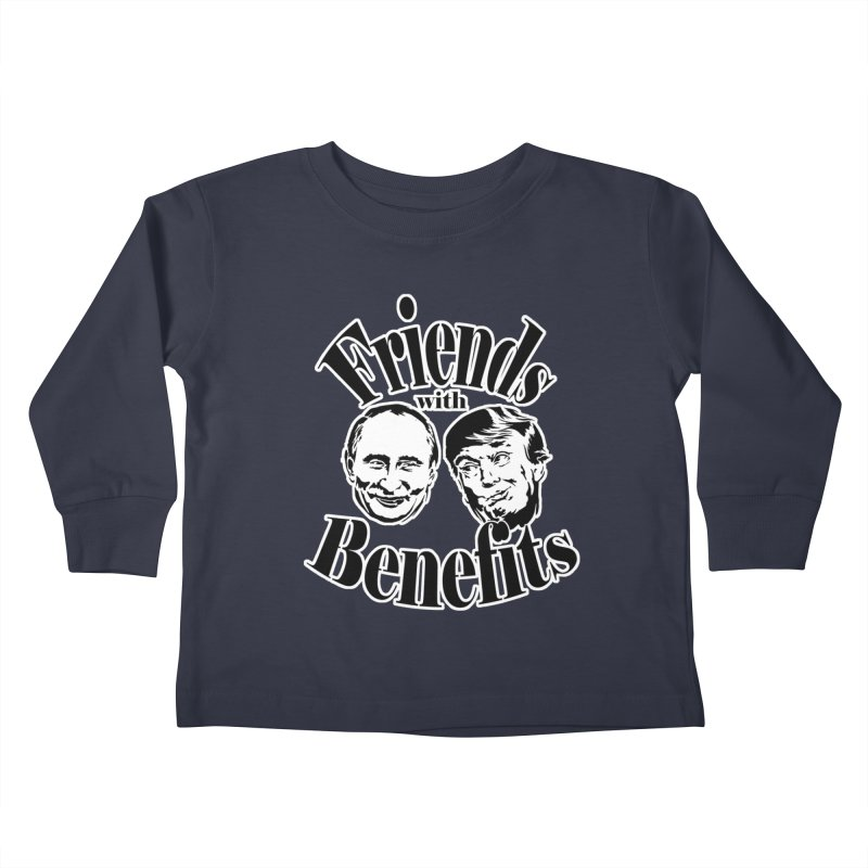 Friends with Benefits Kids Toddler Longsleeve T-Shirt by StencilActiv's Shop