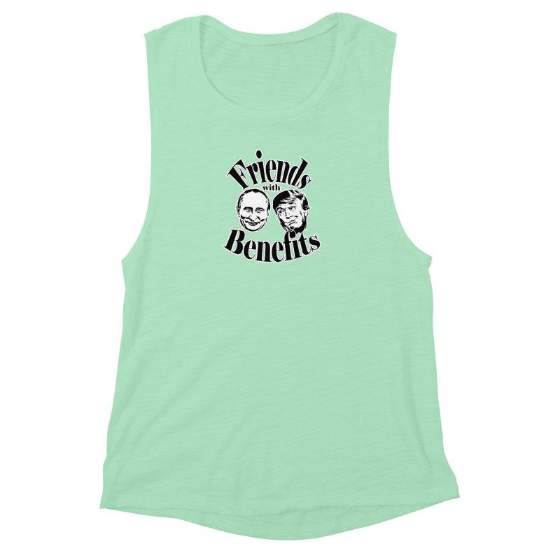 Friends with Benefits Women's Muscle Tank by StencilActiv's Shop
