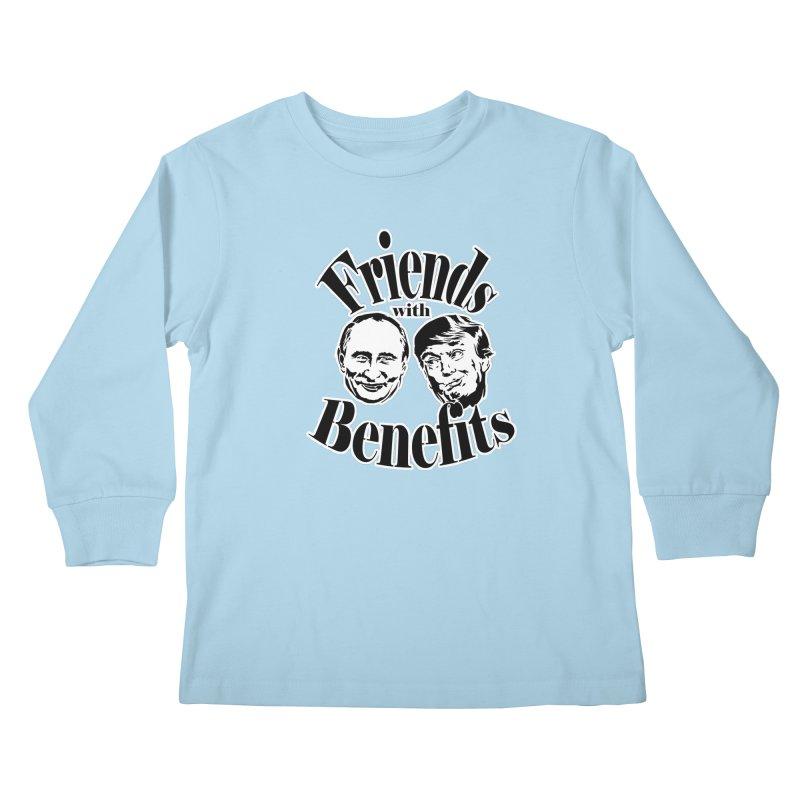 Friends with Benefits Kids Longsleeve T-Shirt by StencilActiv's Shop