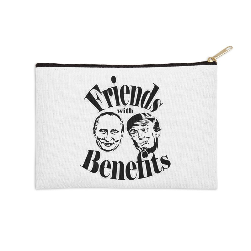 Friends with Benefits Accessories Zip Pouch by StencilActiv's Shop