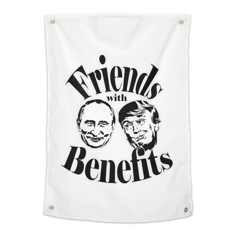 Friends with Benefits Home Tapestry by StencilActiv's Shop