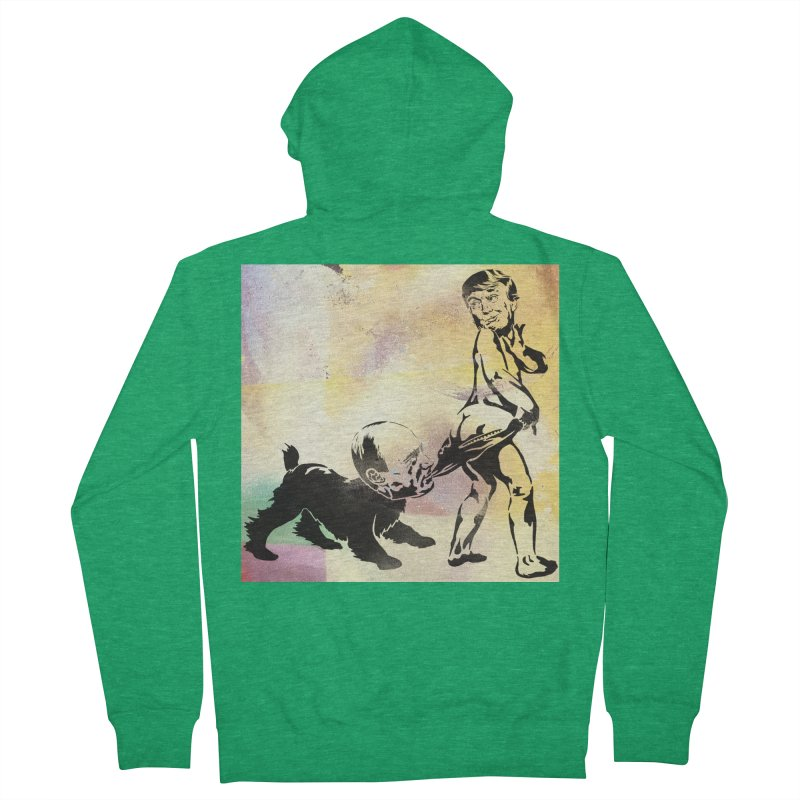 Coppertone Trump/Putin Men's Zip-Up Hoody by StencilActiv's Shop