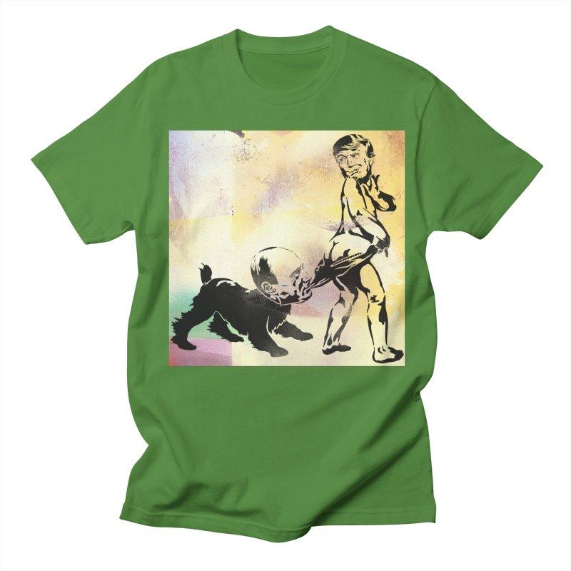 Coppertone Trump/Putin Men's T-shirt by StencilActiv's Shop