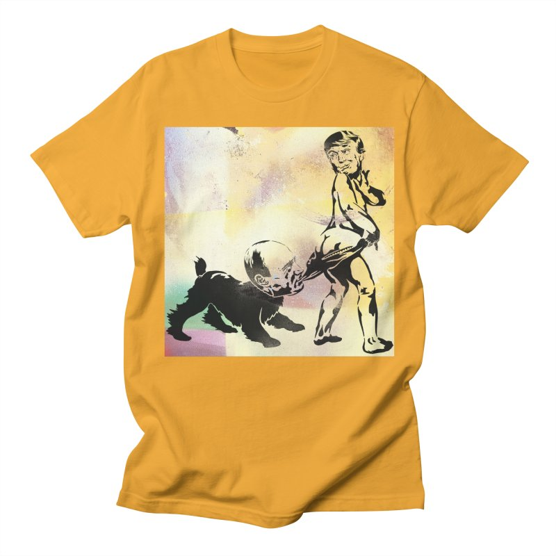 Coppertone Trump/Putin Women's Unisex T-Shirt by StencilActiv's Shop