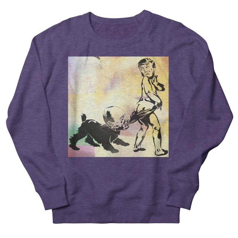Coppertone Trump/Putin Men's Sweatshirt by StencilActiv's Shop
