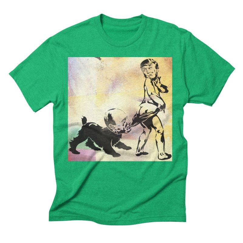 Coppertone Trump/Putin Men's Triblend T-Shirt by StencilActiv's Shop