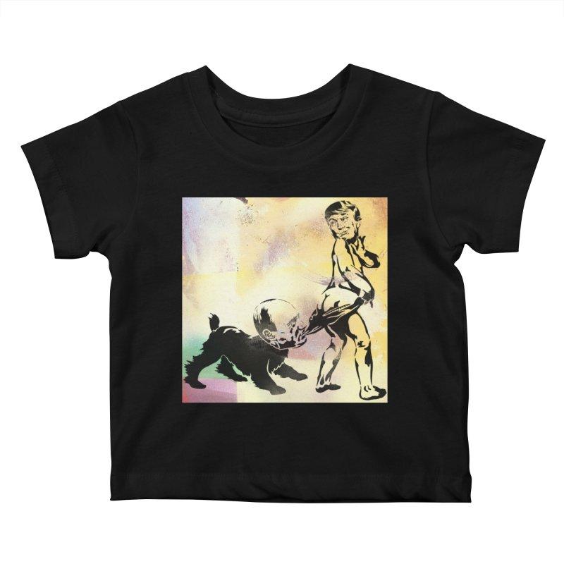 Coppertone Trump/Putin Kids Baby T-Shirt by StencilActiv's Shop