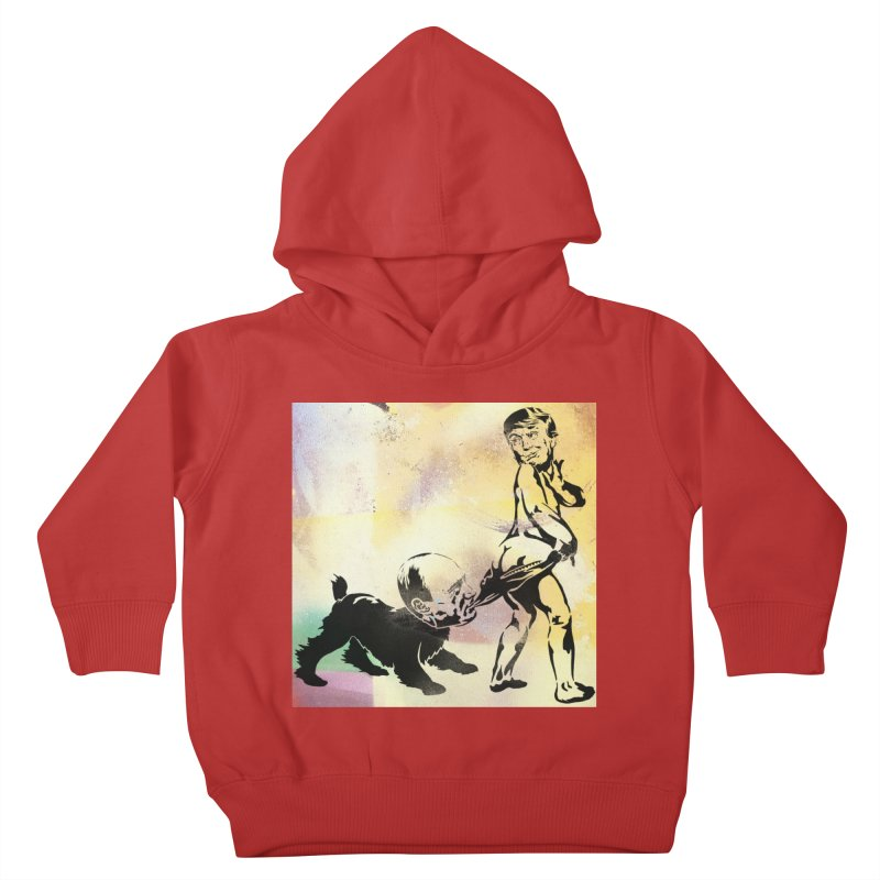 Coppertone Trump/Putin Kids Toddler Pullover Hoody by StencilActiv's Shop