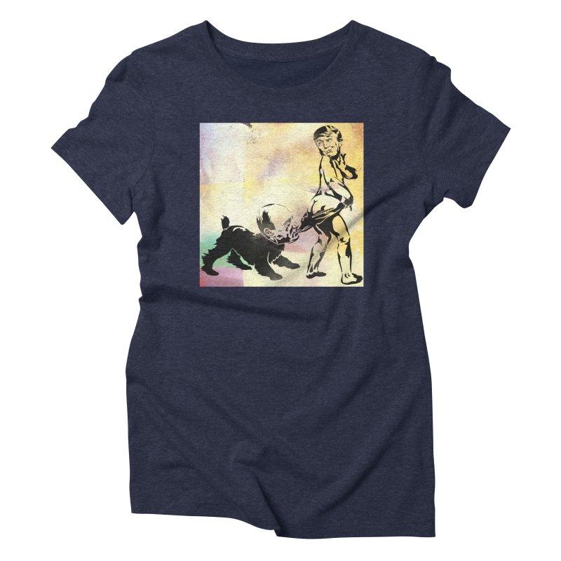 Coppertone Trump/Putin Women's Triblend T-Shirt by StencilActiv's Shop