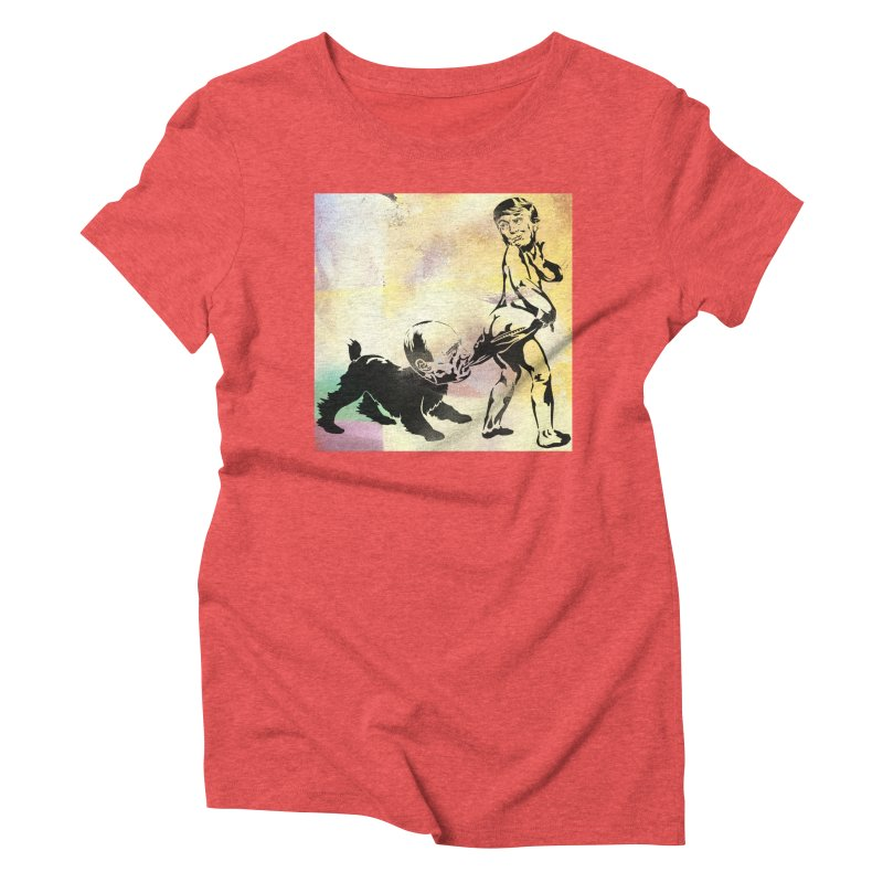 Coppertone Trump/Putin Women's Triblend T-shirt by StencilActiv's Shop
