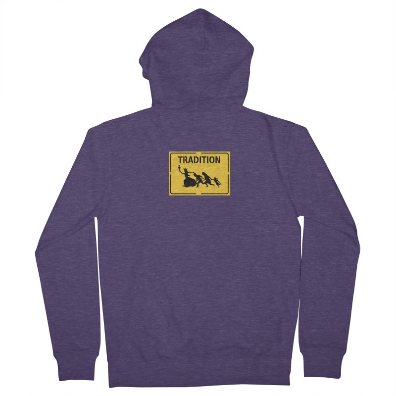 An American Tradition Men's Zip-Up Hoody by StencilActiv's Shop