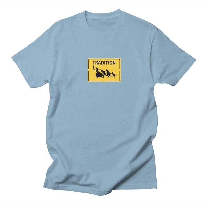 An American Tradition Men's T-shirt by StencilActiv's Shop