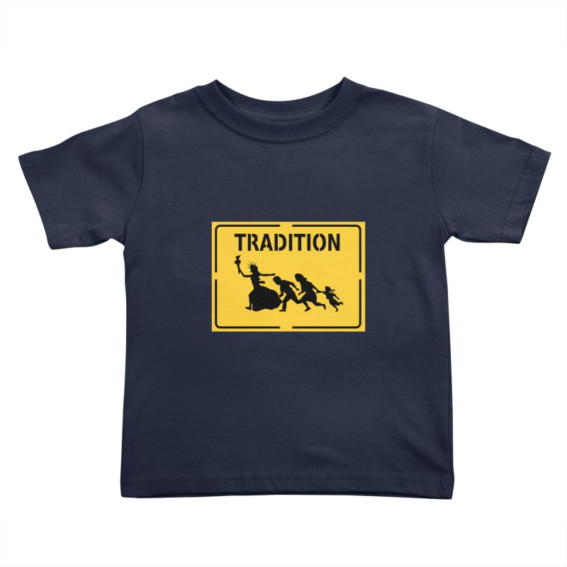 An American Tradition Kids Toddler T-Shirt by StencilActiv's Shop