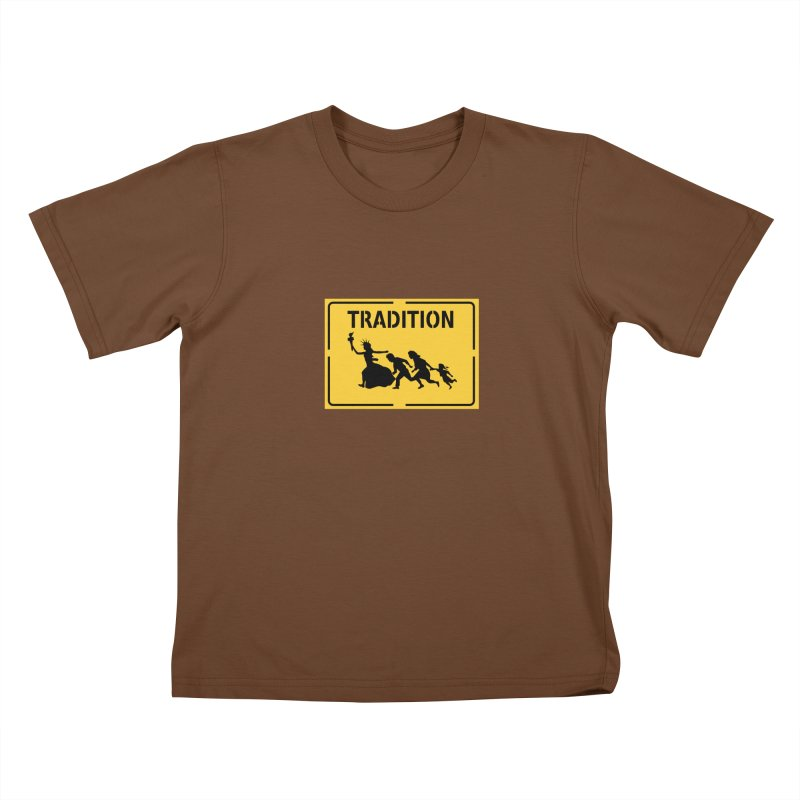 An American Tradition Kids T-Shirt by StencilActiv's Shop