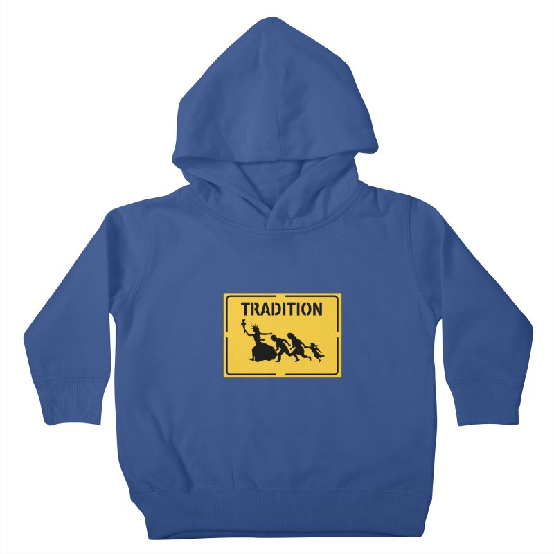 An American Tradition Kids Toddler Pullover Hoody by StencilActiv's Shop
