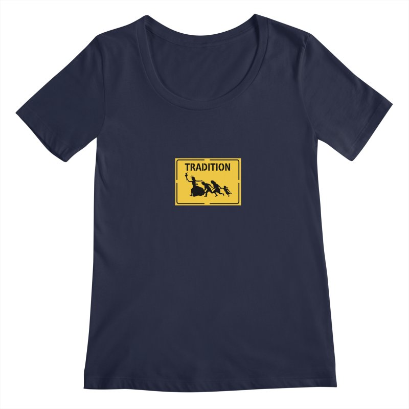 An American Tradition Women's Scoopneck by StencilActiv's Shop