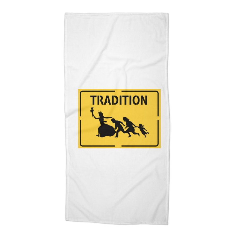 An American Tradition Accessories Beach Towel by StencilActiv's Shop