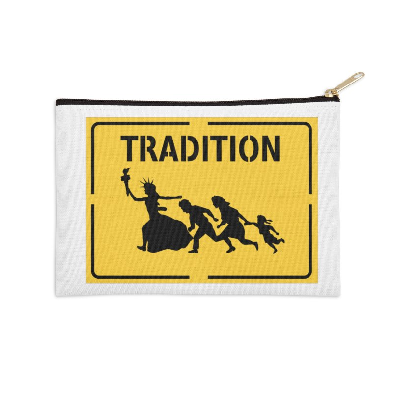 An American Tradition Accessories Zip Pouch by StencilActiv's Shop