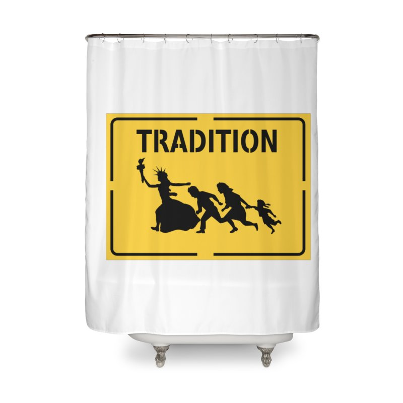 An American Tradition Home Shower Curtain by StencilActiv's Shop