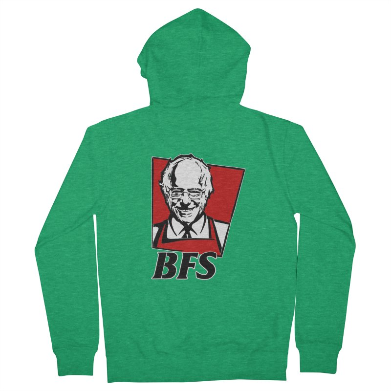 Bernie F*****G Sanders Men's Zip-Up Hoody by StencilActiv's Shop