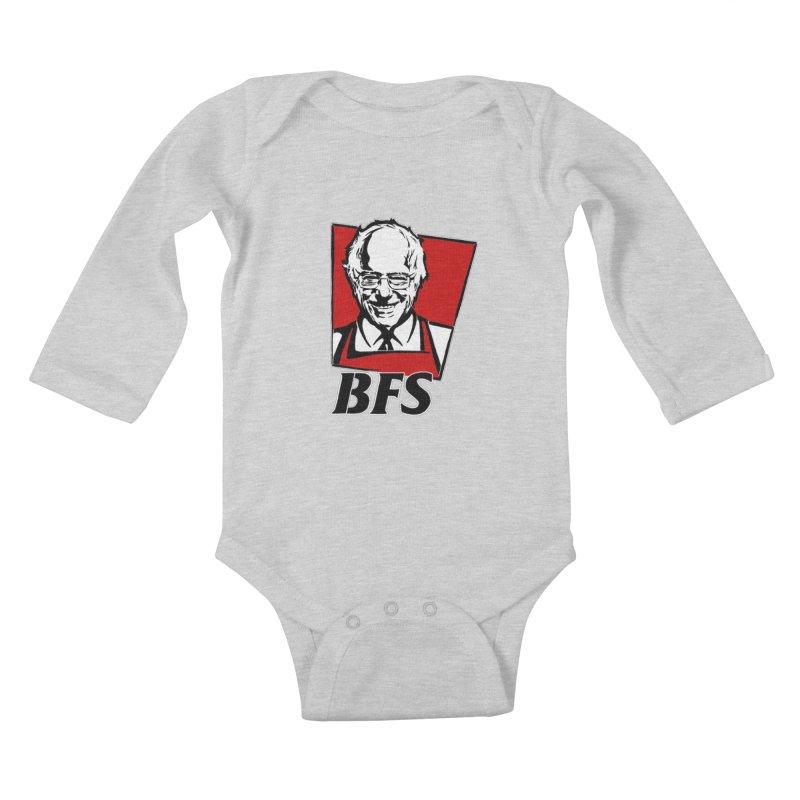 Bernie F*****G Sanders Kids Baby Longsleeve Bodysuit by StencilActiv's Shop
