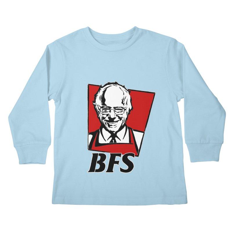 Bernie F*****G Sanders Kids Longsleeve T-Shirt by StencilActiv's Shop