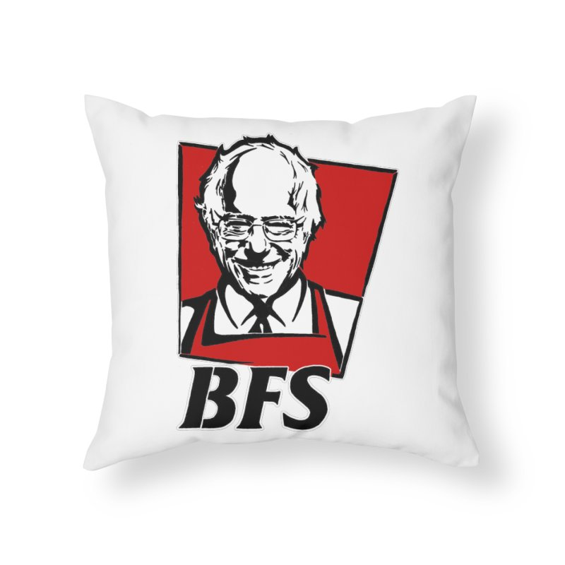 Bernie F*****G Sanders Home Throw Pillow by StencilActiv's Shop