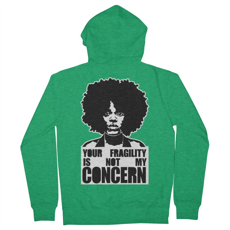 Your Fragility Is Not My Concern Men's Zip-Up Hoody by StencilActiv's Shop