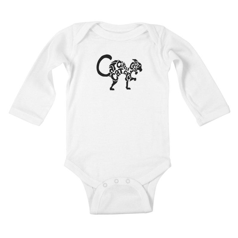 Cat Calls Get Cat Claws Kids Baby Longsleeve Bodysuit by StencilActiv's Shop