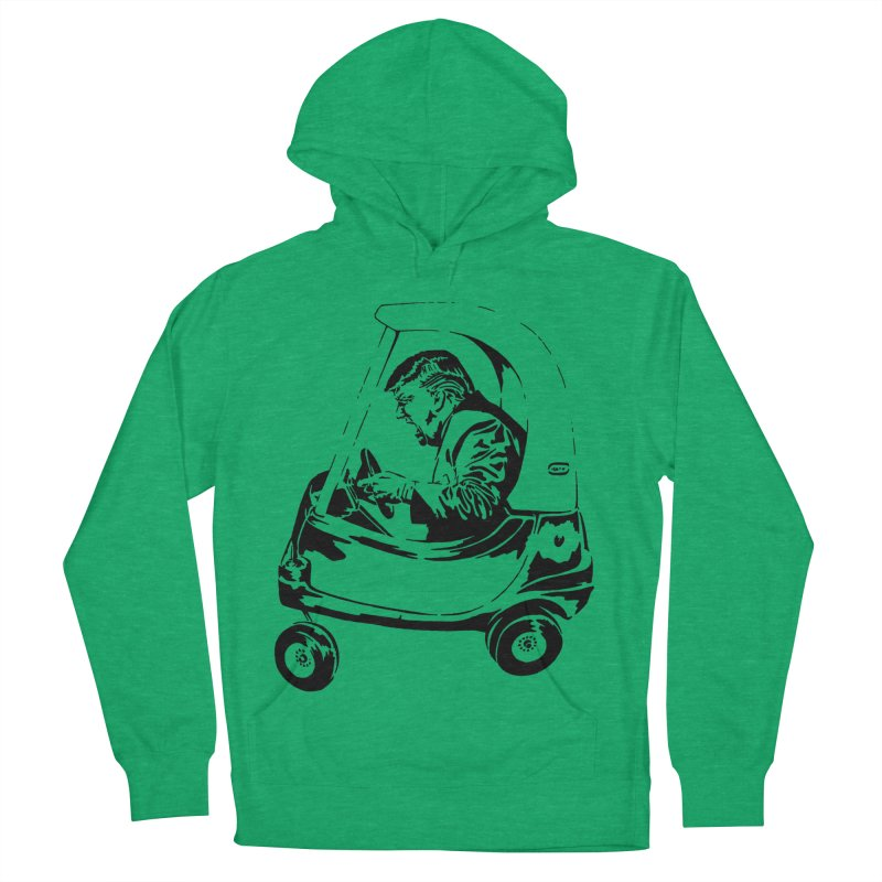 Trump Car(d) Women's Pullover Hoody by StencilActiv's Shop