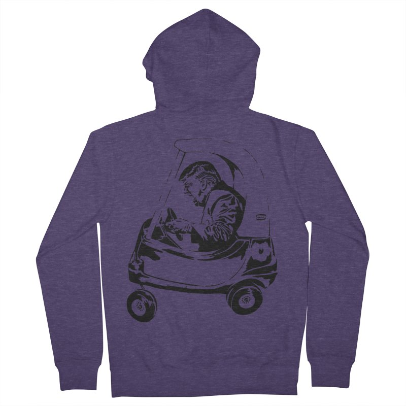 Trump Car(d) Men's Zip-Up Hoody by StencilActiv's Shop