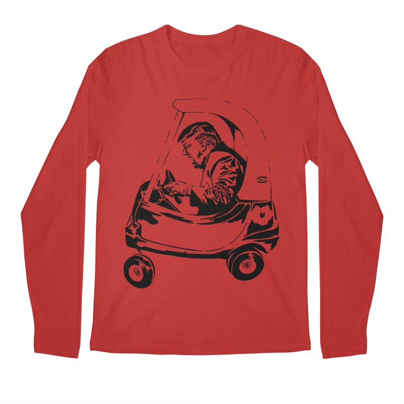 Trump Car(d) Men's Longsleeve T-Shirt by StencilActiv's Shop