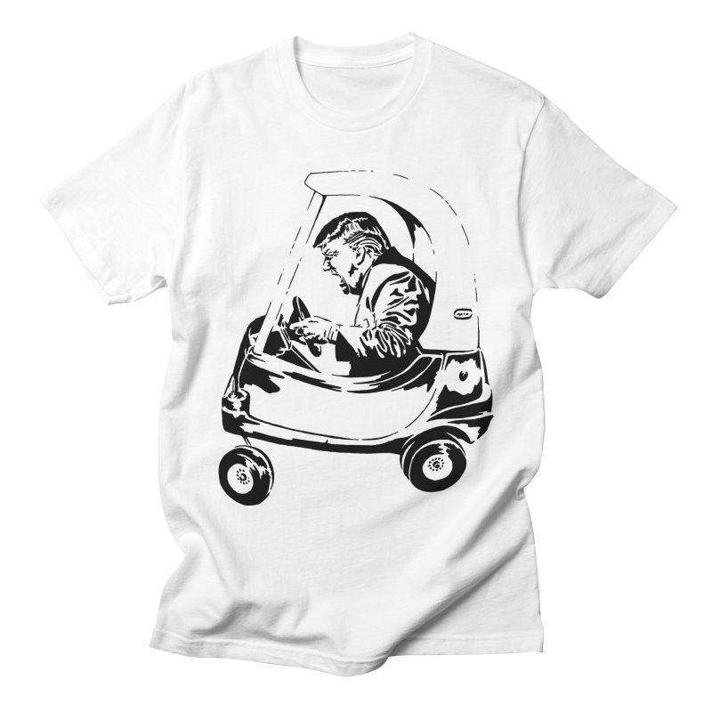 Trump Car(d) Women's Unisex T-Shirt by StencilActiv's Shop