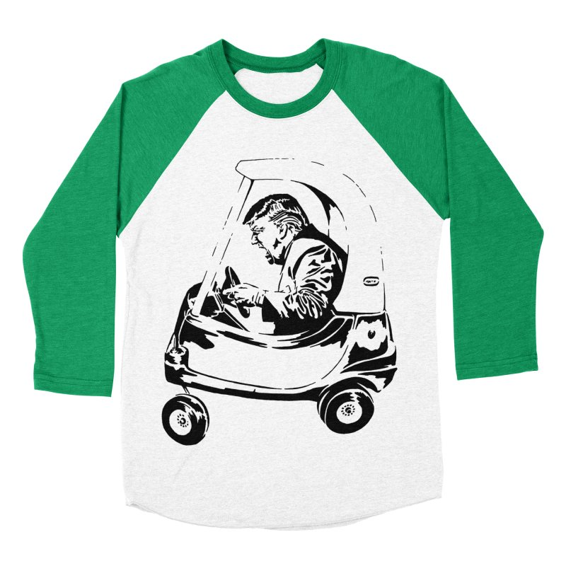 Trump Car(d) Women's Baseball Triblend T-Shirt by StencilActiv's Shop