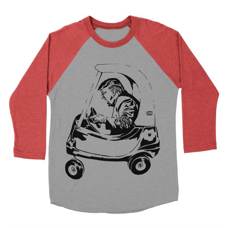 Trump Car(d) Women's Baseball Triblend T-Shirt by StencilActiv's Shop