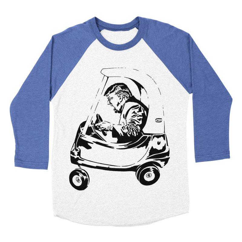 Trump Car(d) Men's Baseball Triblend T-Shirt by StencilActiv's Shop
