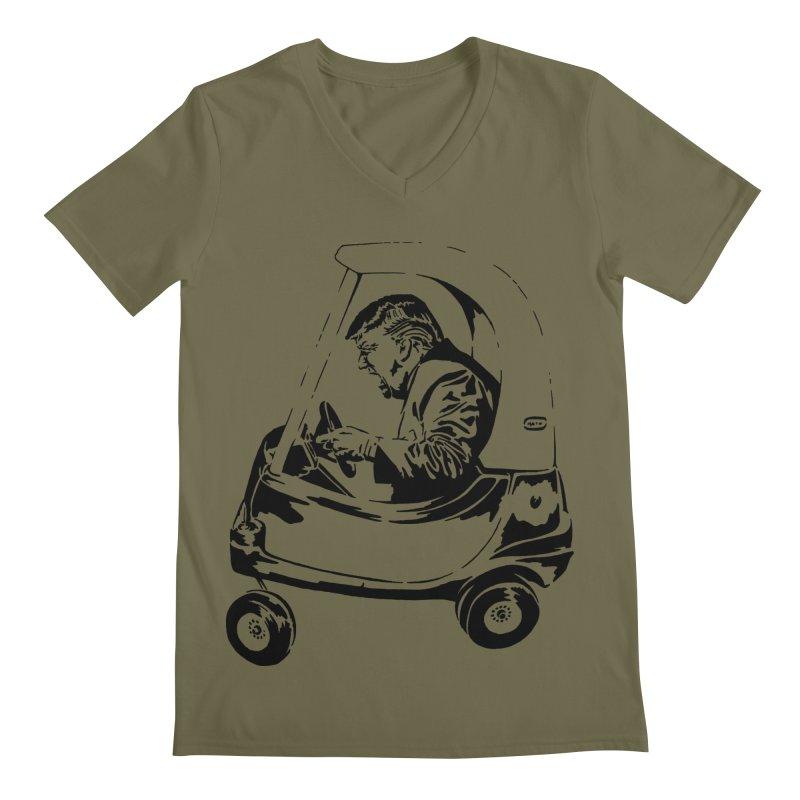 Trump Car(d) Men's V-Neck by StencilActiv's Shop