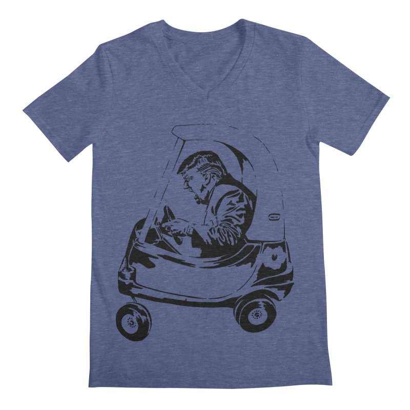 Trump Car(d) Men's V-Neck by StencilActiv's Shop