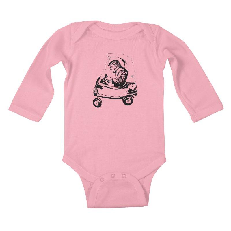 Trump Car(d) Kids Baby Longsleeve Bodysuit by StencilActiv's Shop