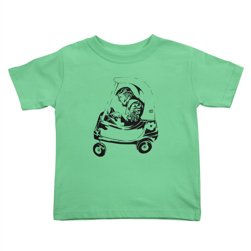 Trump Car(d) Kids Toddler T-Shirt by StencilActiv's Shop
