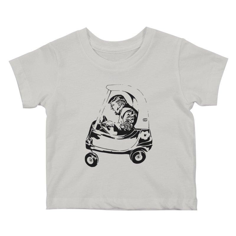 Trump Car(d) Kids Baby T-Shirt by StencilActiv's Shop