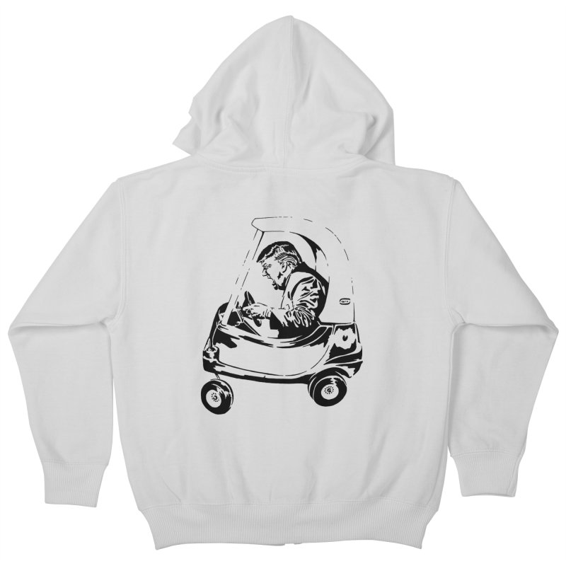 Trump Car(d) Kids Zip-Up Hoody by StencilActiv's Shop