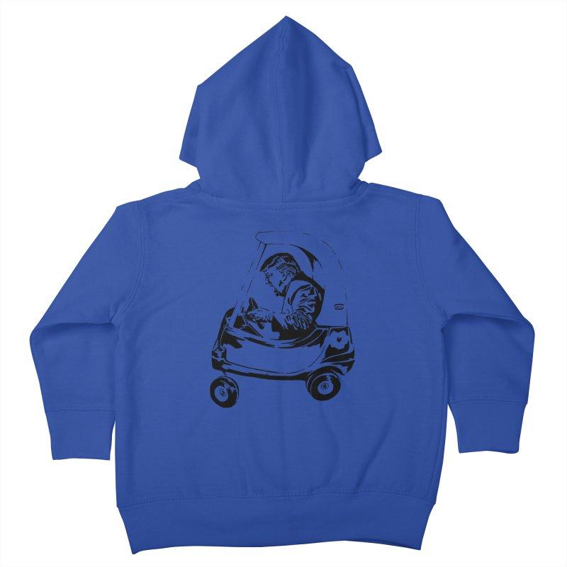 Trump Car(d) Kids Toddler Zip-Up Hoody by StencilActiv's Shop