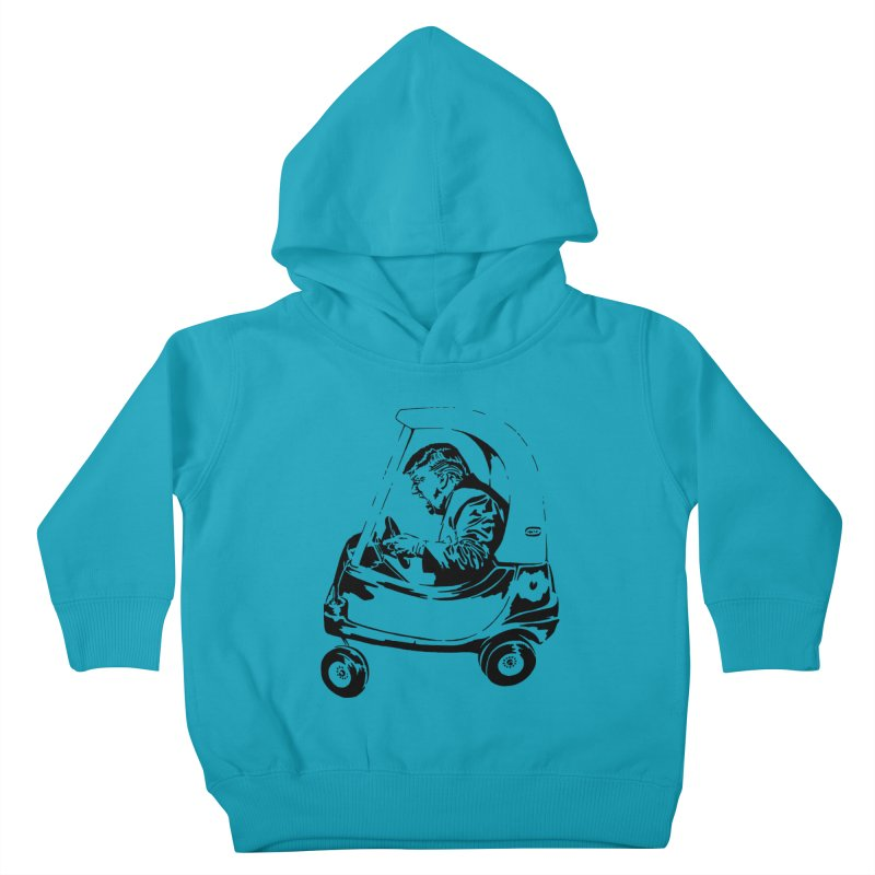 Trump Car(d) Kids Toddler Pullover Hoody by StencilActiv's Shop