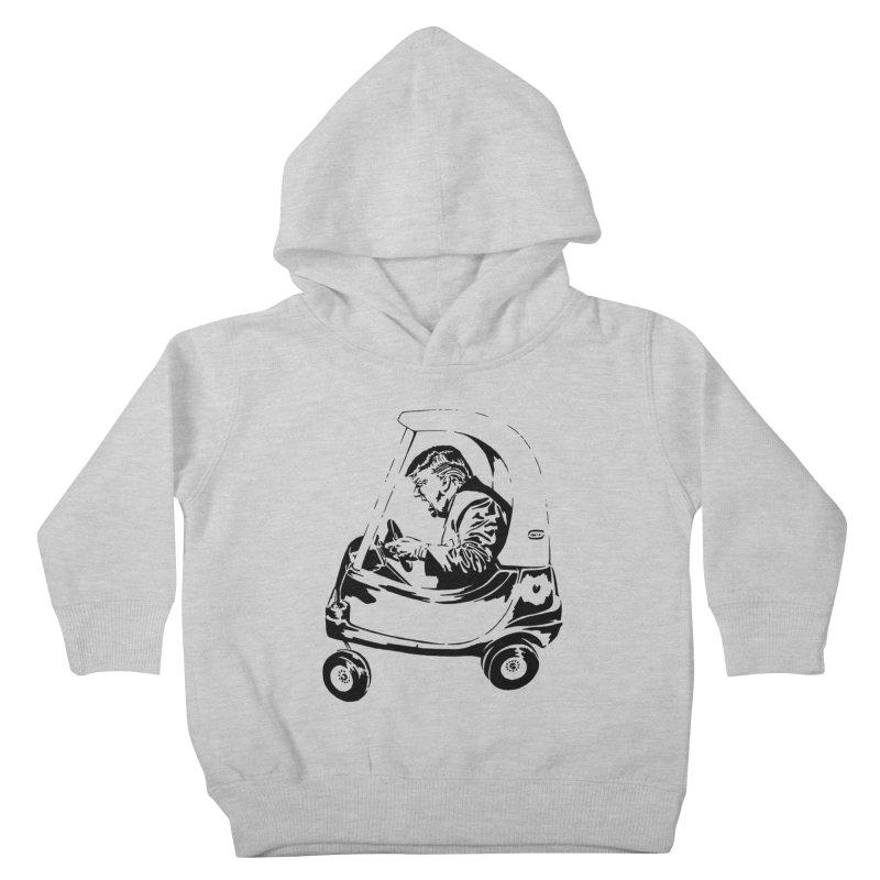 Trump Car(d) Kids Toddler Pullover Hoody by StencilActiv's Shop