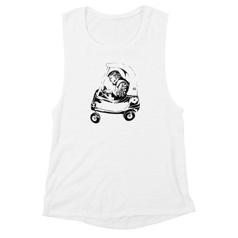 Trump Car(d) Women's Muscle Tank by StencilActiv's Shop