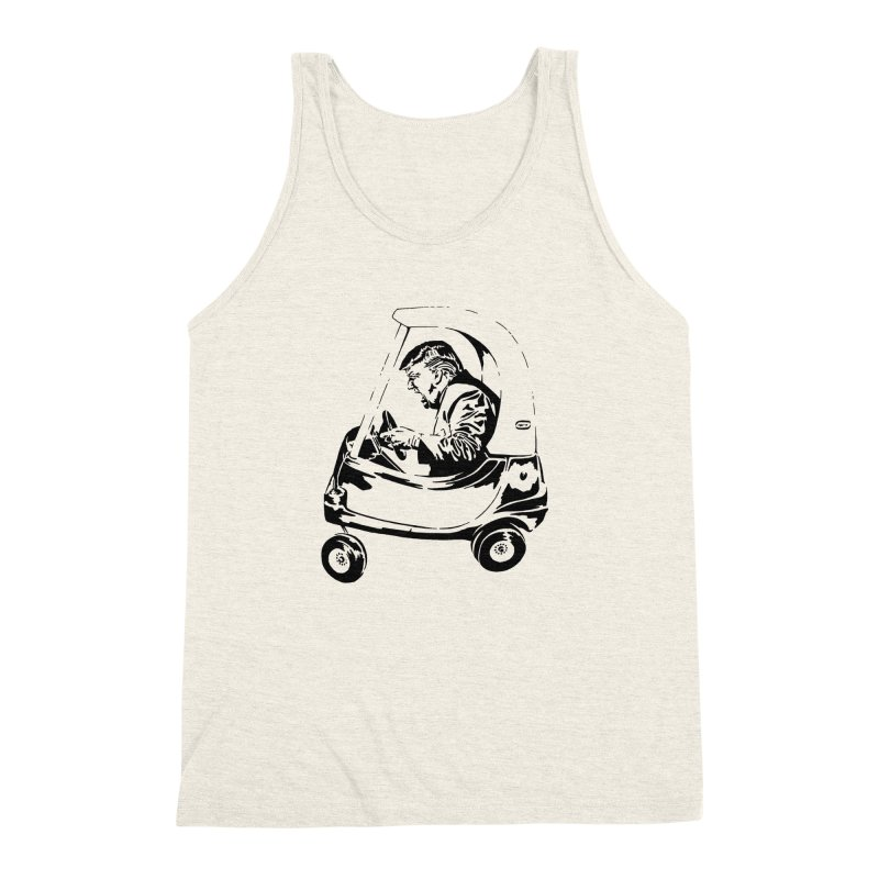 Trump Car(d) Men's Triblend Tank by StencilActiv's Shop