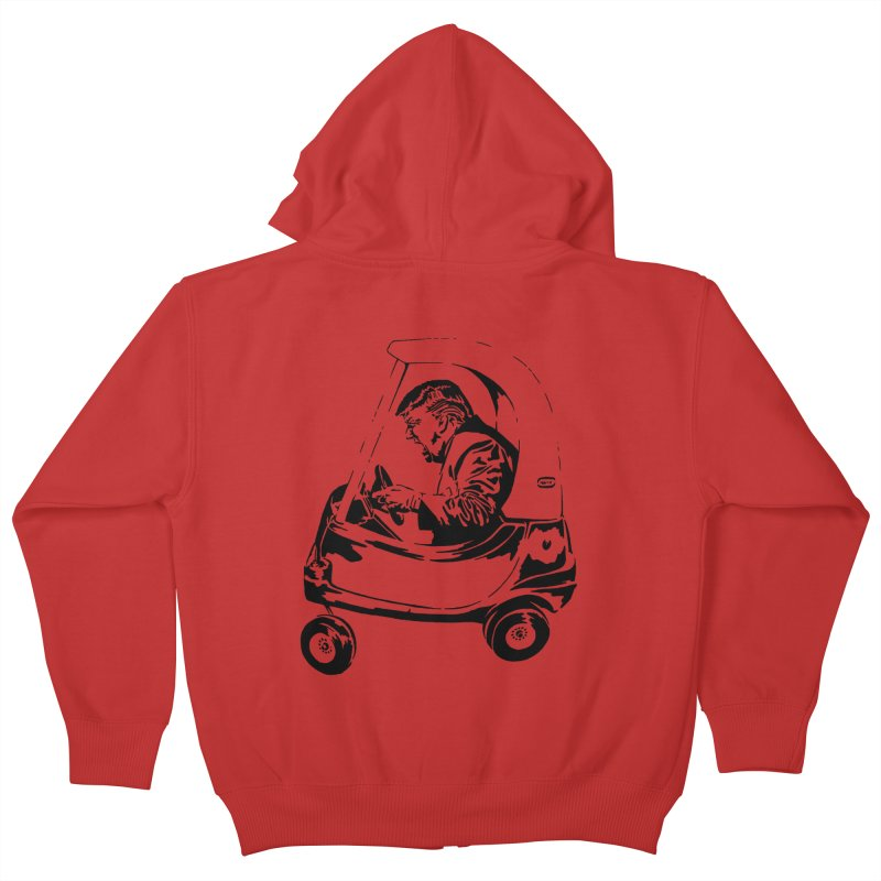 Trump Car(d) Kids Zip-Up Hoody by StencilActiv's Shop