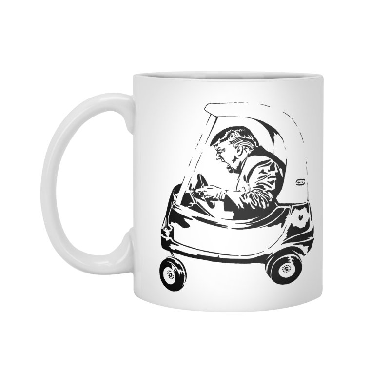 Trump Car(d) Accessories Mug by StencilActiv's Shop